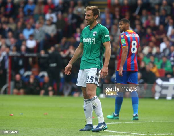 West Bromwich Albion's Craig Dawson during the Premiership League match between Crystal Palace and West Bromwich Albion at Selhurst Park London...