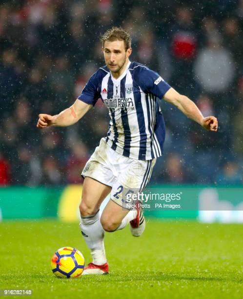 West Bromwich Albion's Craig Dawson