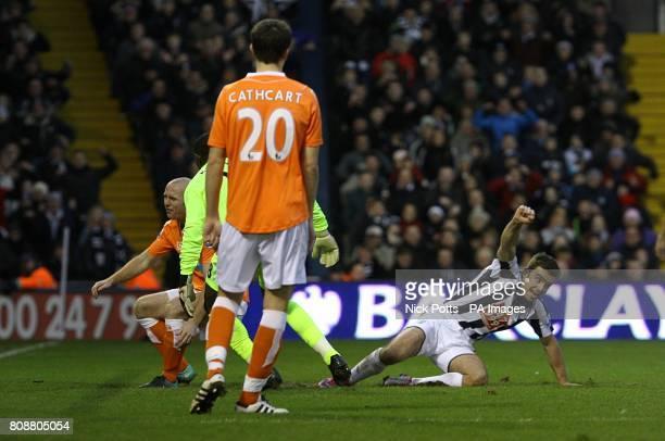 Blackpool V West Bromwich Albion Premier League Photos and ...