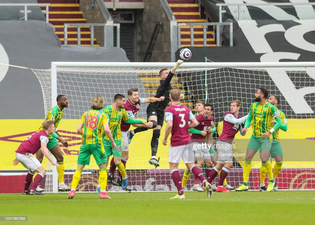 Burnley v West Bromwich Albion - Premier League : News Photo