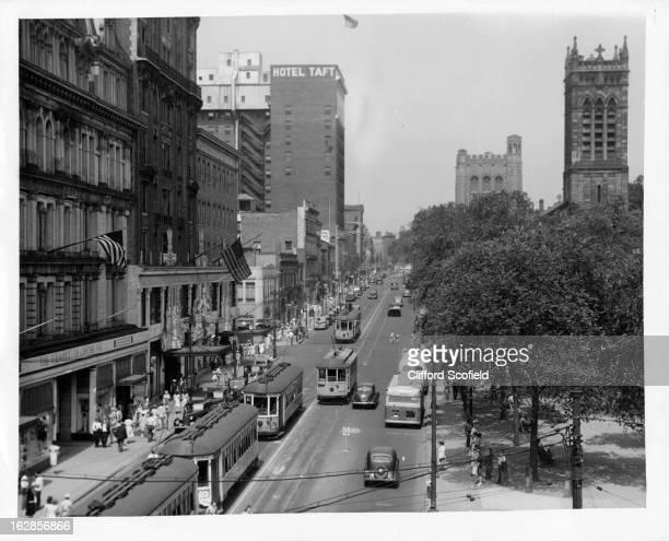 West Chapel Street New Haven Connecticut 1955