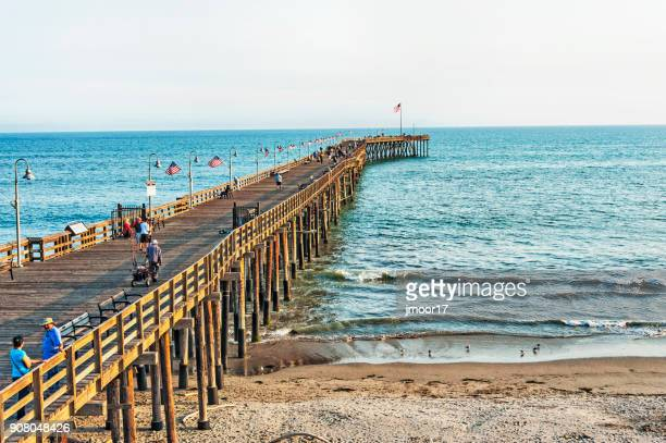 West Coast Beach and City Pier Ventura California