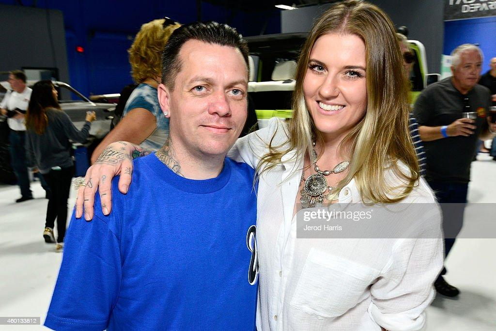 Ryan Friedlinghaus met vriendelijke, vrouw Meagan Friedlinghaus