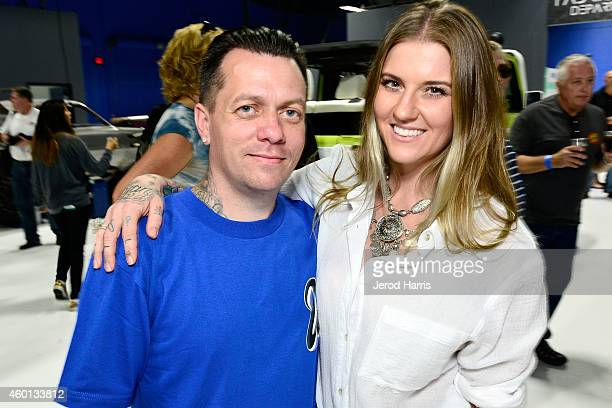 West Coast Customs founder and CEO Ryan Friedlinghaus and wife Meagan attend the Grand Opening of West Coast Customs Burbank Headquarters on December...