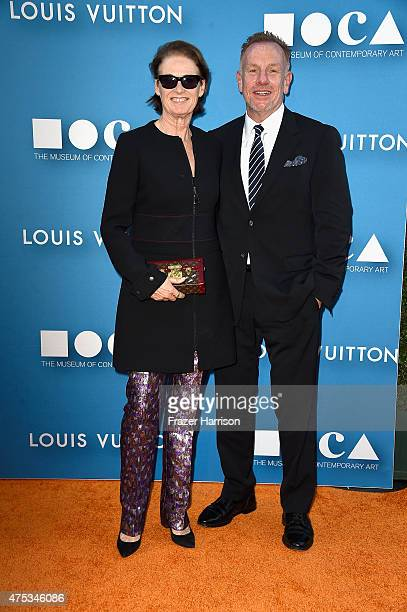 West Coast Director of Vogue and Teen Vogue Lisa Love attends the 2015 MOCA Gala presented by Louis Vuitton at The Geffen Contemporary at MOCA on May...