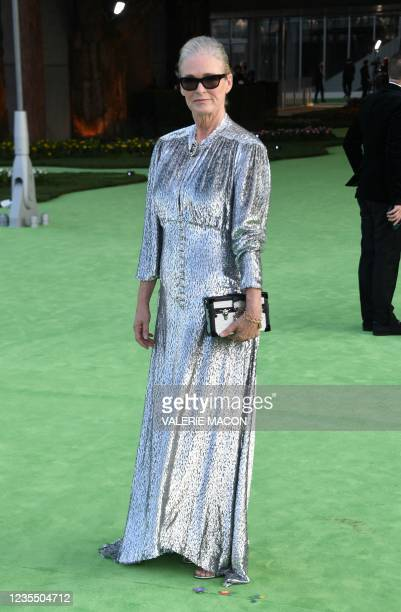West Coast Director of Vogue Lisa Love arrives for the Academy Museum of Motion Pictures opening gala on September 25, 2021 in Los Angeles,...