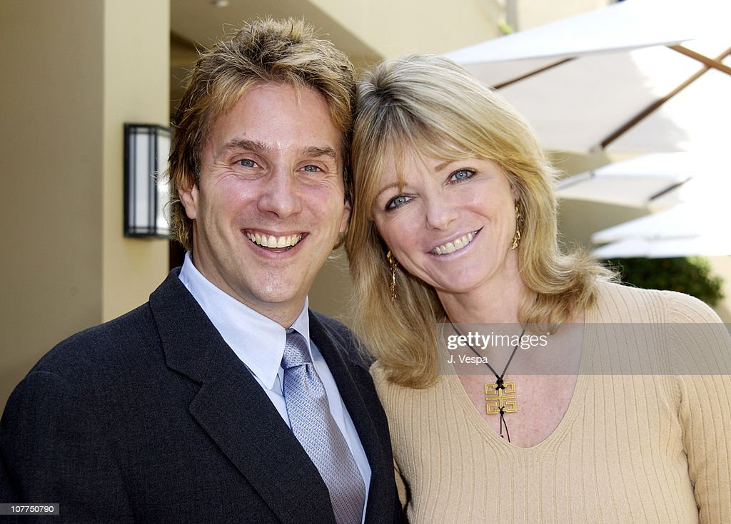 West Coast Director of W, John Livesay and Cheryl Tiegs
