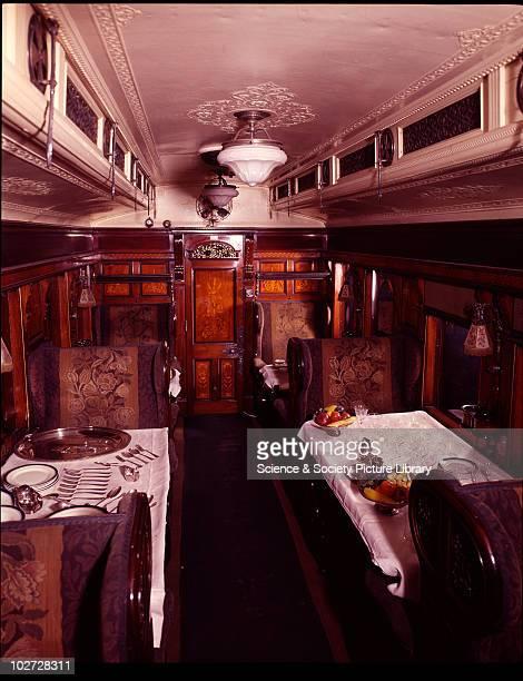 West Coast Joint Stock . West Coast Joint Stock 1st Class Dining Car No. 76 . .