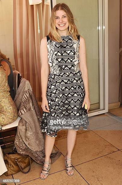 West Coast Special Projects Editor of Vogue Jessica Kantor of Vogue attends Vogue Lunch In Celebration Of The Etro Spring Collection Hosted By Sally...