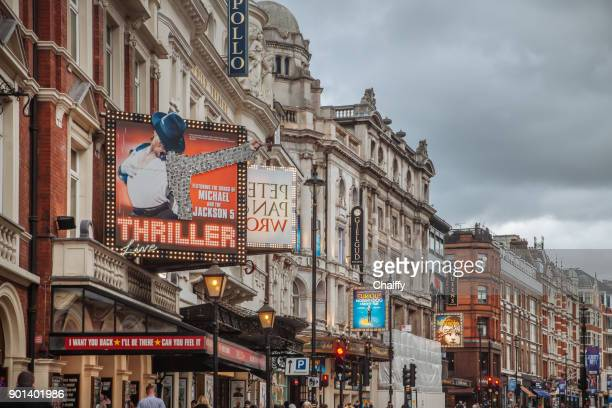 west end in london - west end london stock photos and pictures