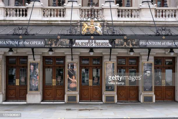 West End theatres ramain closed, with musicals and other theatre shows, like the incredibly popular Phantom of the Opera at Her Majesty's Theatre, on...