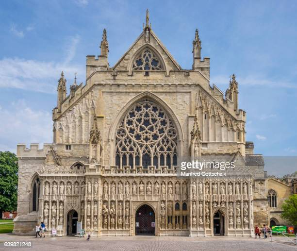 West facade of Exeter Cathedral