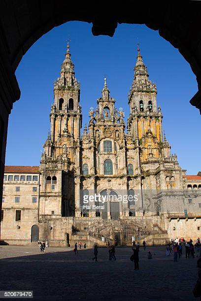 West front of the Santiago Cathedral