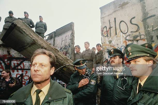 The fall of the Berlin Wall 10th November 1989