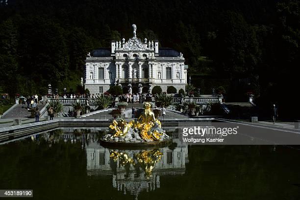 West Germany Bavaria Linderhof Castle Near Oberammergau