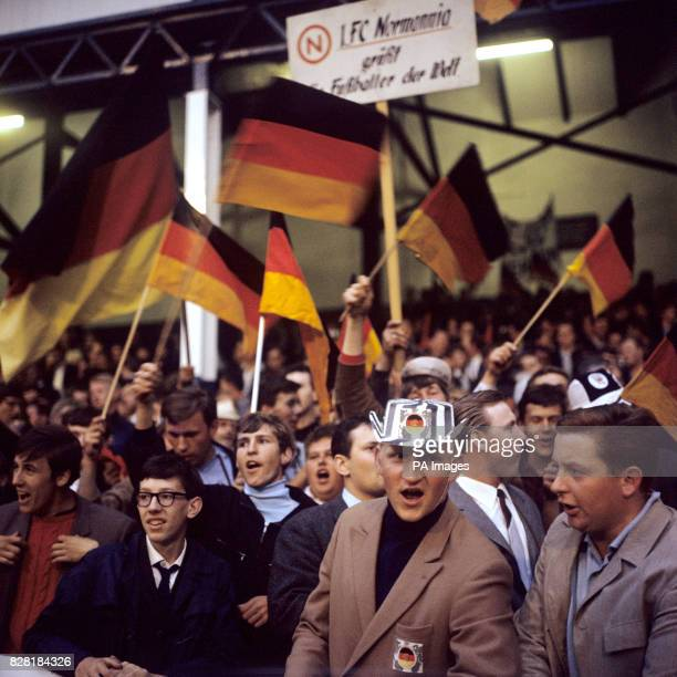 West Germany fans