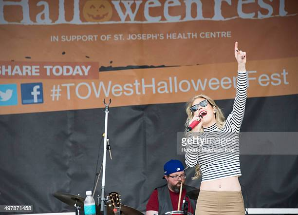 Alli Walker performing live for Taylor Swift Tribute Show Toronto West Halloween Fest at BloorWest Village is a fundraising event in support of the...