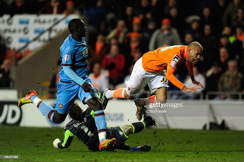 Blackpool v West Ham United - npower Championship