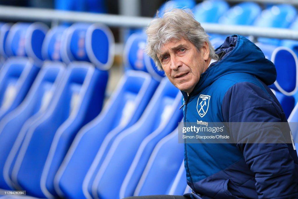 Cardiff City v West Ham United - Premier League : News Photo