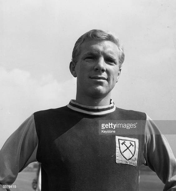 West Ham United and England football player Bobby Moore