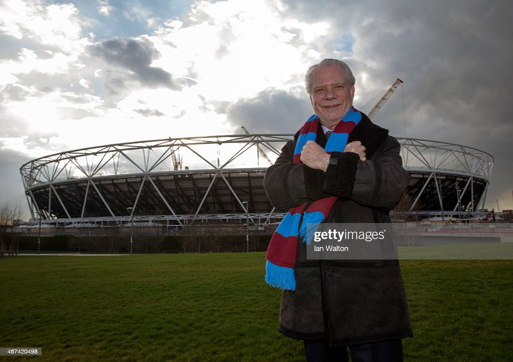 Lycamobile & West Ham United Partnership Announcement : News Photo
