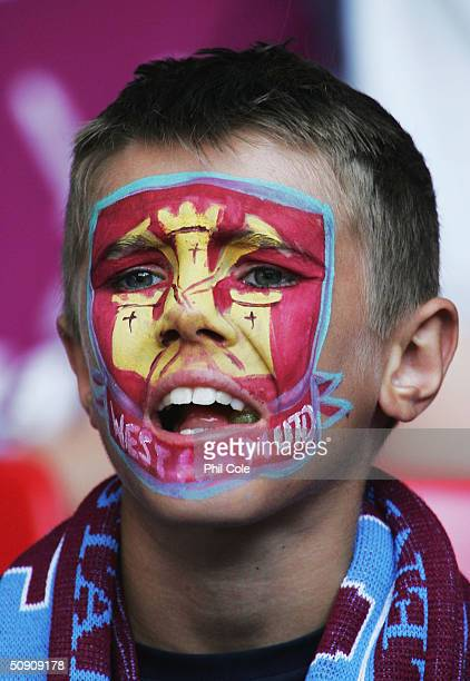 West Ham United fan during the Nationwide Division One PlayOff Final between Crystal Palace and West Ham United at The Millennium Stadium on May 29...