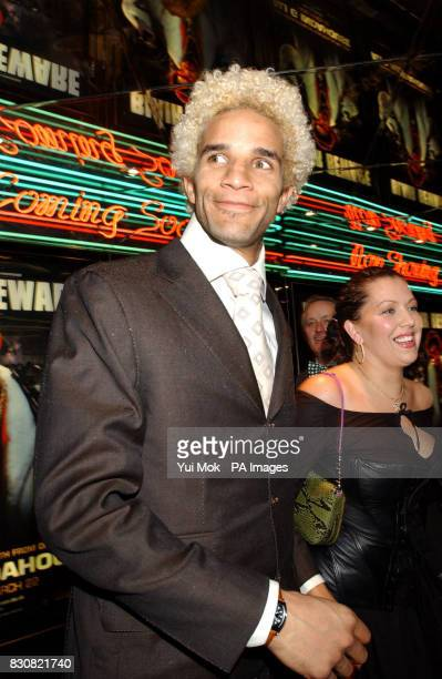 West Ham United goalkeeper David James arriving at the Empire Cinema in London's Leicester Square for the premiere of Ali G InDaHouse