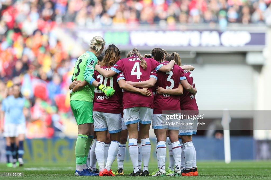 Manchester City Women v West Ham United Ladies - Women's FA Cup Final : News Photo