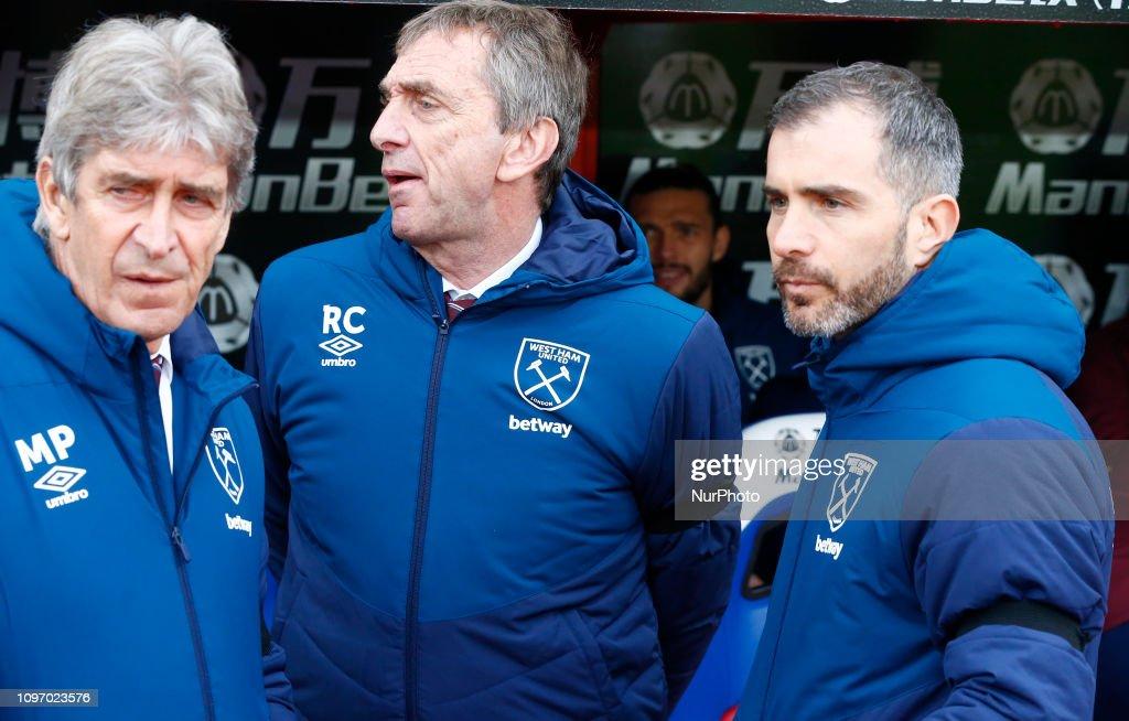Crystal Palace v West Ham United- English Premier League : News Photo
