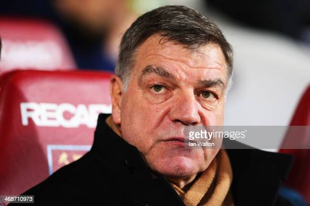 West Ham United manager Sam Allardyce is seen before the Barclays Premier League match between West Ham United and Norwich City at the Boleyn Ground...