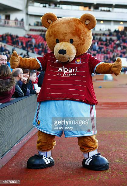 West Ham United Peluche Ours Mascotte