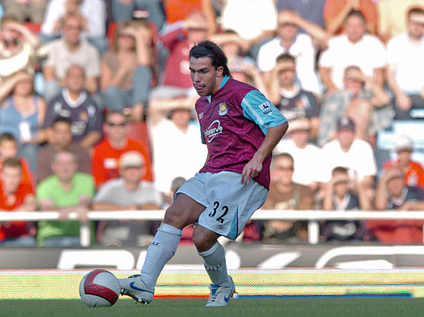 West Ham United new signing Carlos Tevez