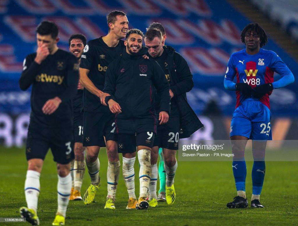 Crystal Palace v West Ham United - Premier League - Selhurst Park : News Photo