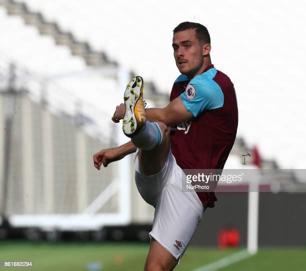 West Ham United U23s Antonio Martinez during Premier League 2 Division 1 match between West Ham United Under 23s and Manchester United Under 23s at...