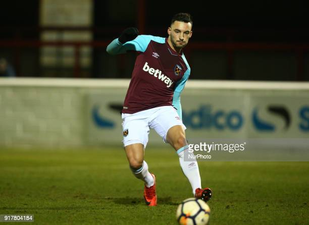West Ham United U23s Sead Haksabanovic during Premier League 2 Division 1 match between West Ham United Under 23s and Tottenham Hotspur Under 23s at...