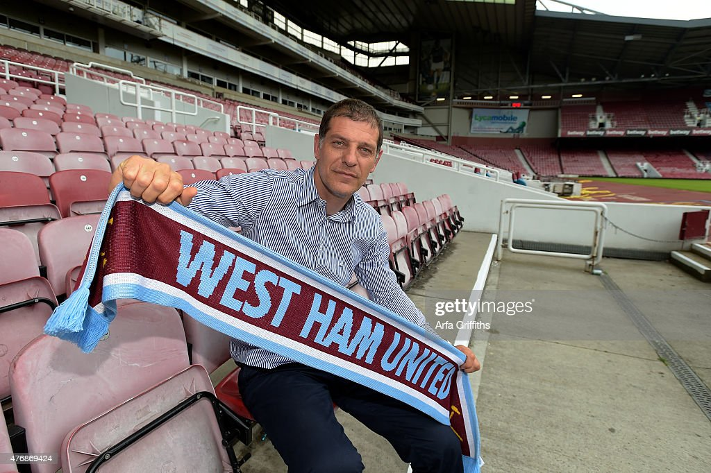 West Ham United Unveil New Manager Slaven Bilic : News Photo