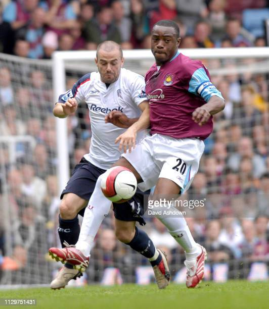 West Ham United v Bolton Wanderers Premier League at Upton Park 5th May 2007.
