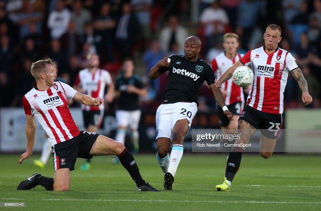 Cheltenham Town v West Ham United - Carabao Cup Second Round : News Photo