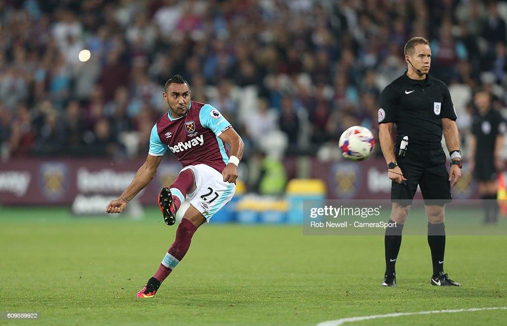 West Ham United v Accrington Stanley - EFL Cup Third Round : News Photo