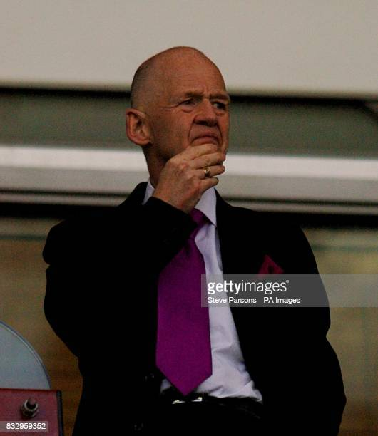 West Ham United's Icelandic owner Eggert Magnusson