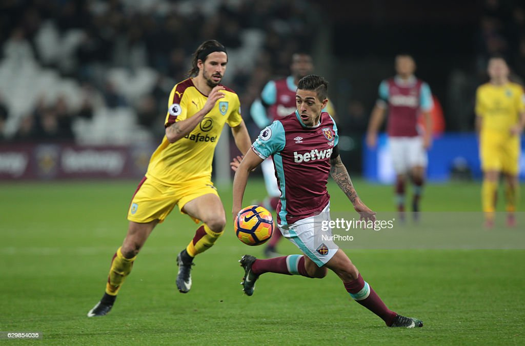West Ham United v Burnley - Premier League : News Photo