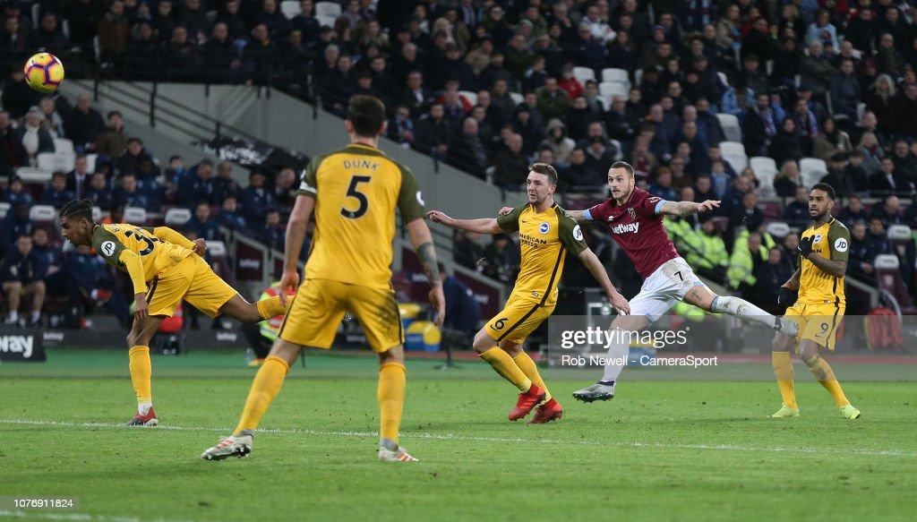 West Ham United v Brighton & Hove Albion - Premier League : News Photo