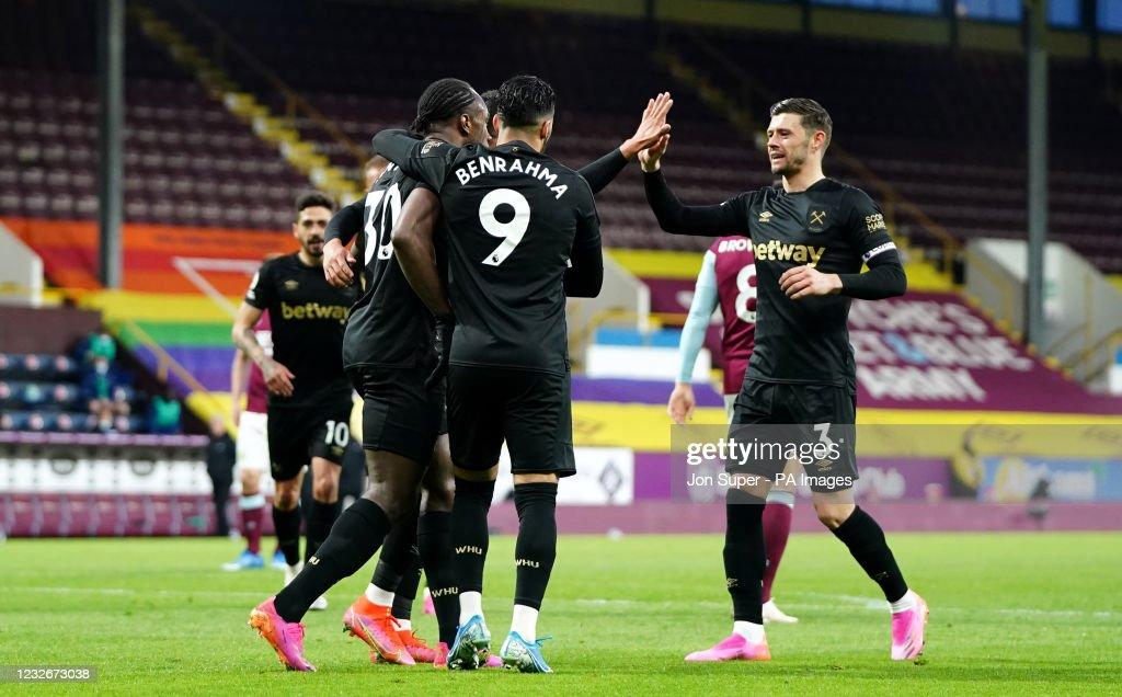 Burnley v West Ham United - Premier League - Turf Moor : News Photo