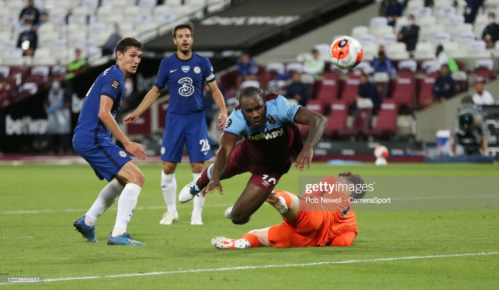 West Ham United v Chelsea FC - Premier League : Nachrichtenfoto
