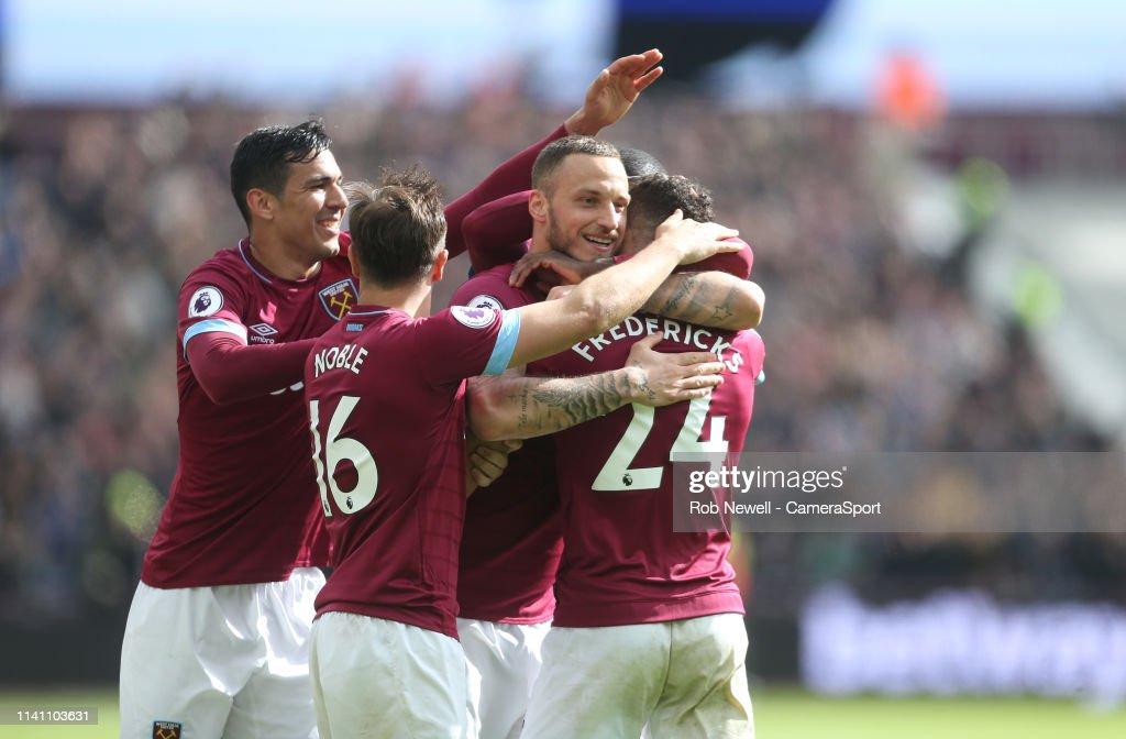 West Ham United v Southampton FC - Premier League : Nachrichtenfoto