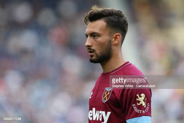 West Ham United's Sead Haksabanovic at Deepdale on July 21 2018 in Preston England