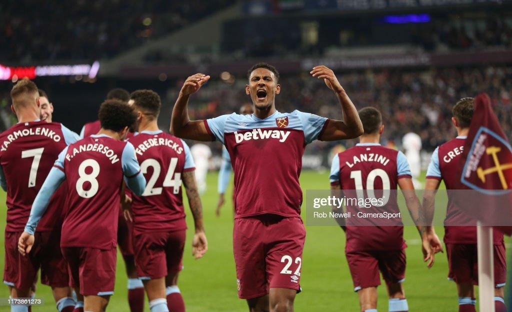 West Ham United v Crystal Palace - Premier League : Nachrichtenfoto