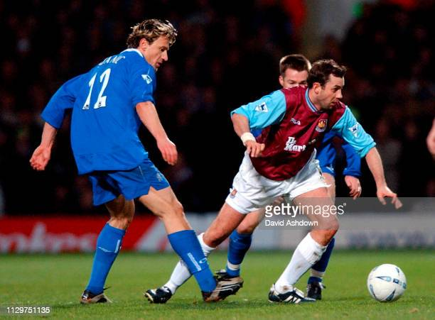 West Ham v Chelsea at Upton Park FA Cup 4th round replay 6th Feb 2002.