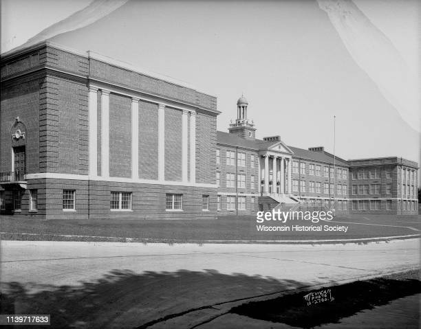 West High School at 30 Ash Street Madison Wisconsin June 14 1931 HJ Kelly was the general contractor