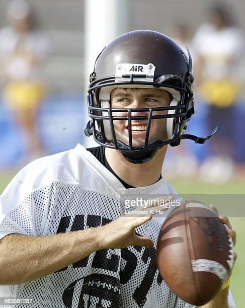 West High School in Torrance varsity team quarterback Matt Roquemore.